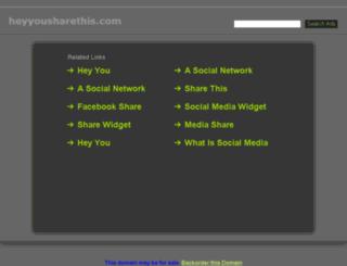 heyyousharethis.com screenshot