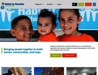 hfhsloco.org screenshot