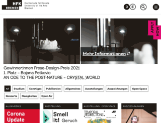 hfk-bremen.de screenshot