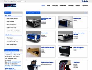 hflaser.com screenshot