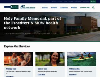 hfmhealth.org screenshot