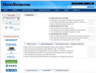 hfsourcing.gov.cn screenshot