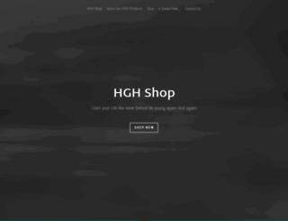 hghshop.strikingly.com screenshot