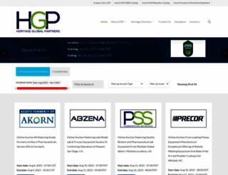 hgpauction.com screenshot