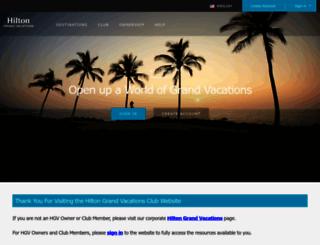 hgvclubprogram.com screenshot