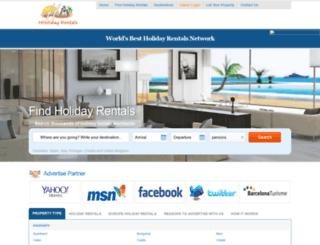 hholidayrentals.com screenshot