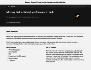 hhvm.com screenshot
