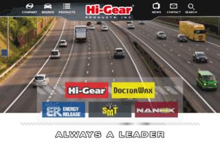 hi-gear-usa.com screenshot