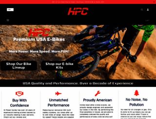 hi-powercycles.com screenshot