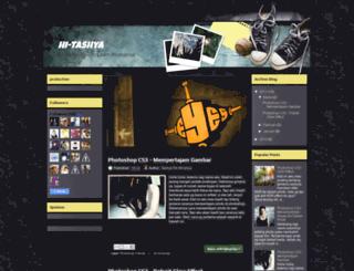 hi-tashya.blogspot.com screenshot