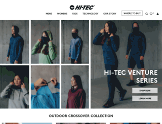 hi-tec.com screenshot