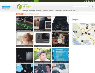 hi-tech.freestyle.pl screenshot