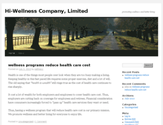 hi-wellness.com screenshot