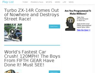 hi.1006playlist.com screenshot