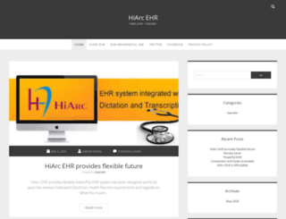 hiarcehr.com screenshot