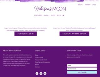 hibiscusmooncrystalcave.com screenshot