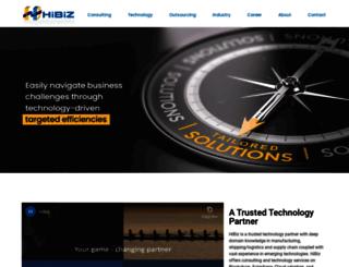 hibizsolutions.com screenshot