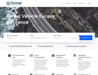 hiccup.com.au screenshot