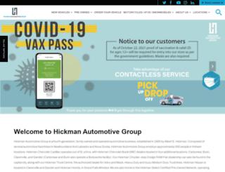hickmangroup.ca screenshot
