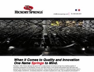 hickorysprings.com screenshot