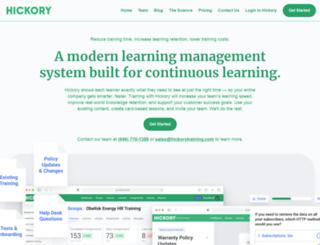 hickorytraining.com screenshot