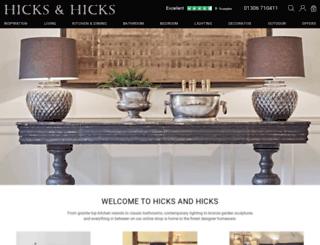 hicksandhicks.com screenshot
