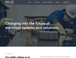 hicoamerica.com screenshot