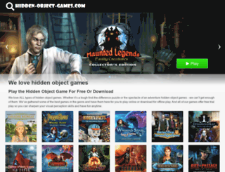 hidden-object-games.com screenshot