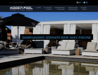 hidden-pool.fr screenshot