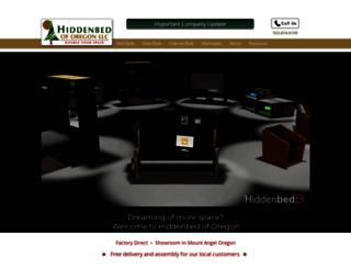 hiddenbedoforegon.com screenshot