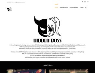 hiddenboss.com.hk screenshot