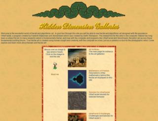 hiddendimension.com screenshot