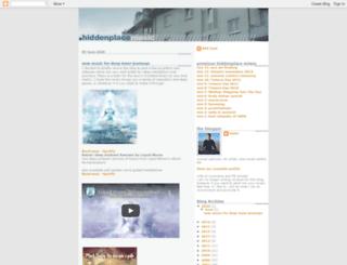 hiddenplacemusic.blogspot.com screenshot