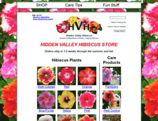hiddenvalleynaturearts.com screenshot