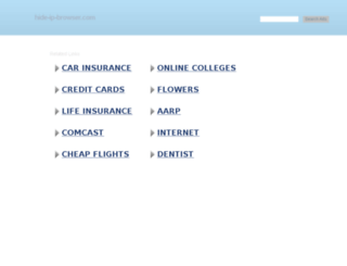 hide-ip-browser.com screenshot