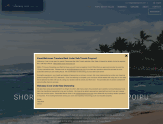 hideawaycove.com screenshot