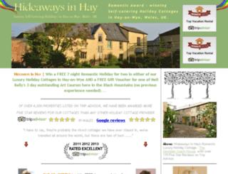 hideawaywinners.com screenshot