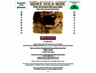 hideegoldmine.com screenshot