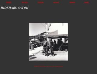 hideharu-satoh.com screenshot
