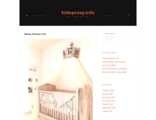 hideproxy.info screenshot