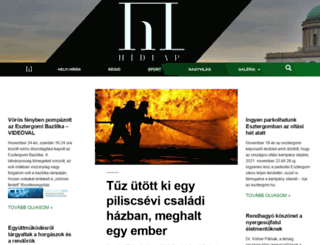hidlap.hu screenshot