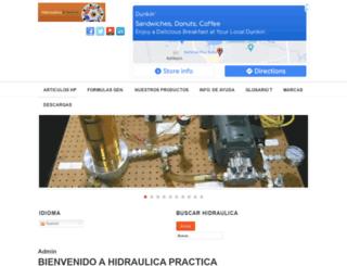 hidraulicapractica.com screenshot