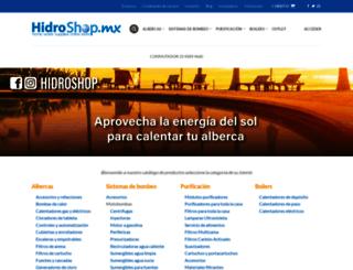 hidrodinamica.com.mx screenshot