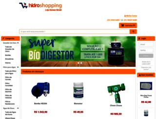 hidroshopping.com.br screenshot