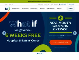 hif.com.au screenshot