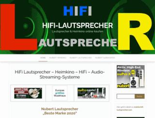 hifi-lautsprecher.com screenshot