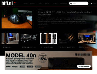 hifi.nl screenshot