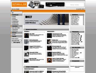 hifi4all.dk screenshot