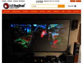 hifihejhal.cz screenshot