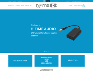 hifimediy.com screenshot